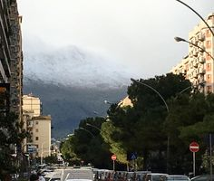 #buongiorno #vistasupalermo #neve #artewiva