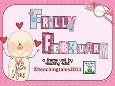 Have fun with your class as they explore the activities in Frilly February! There is so much for them to do and so many different ways they can use...