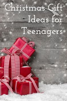 Teenagers can be sooo hard to buy gifts for. I mean, who really knows what they want! I hope there is some sort of miracle gift guide when I am buying for my teenagers. For now, I will rely on t...