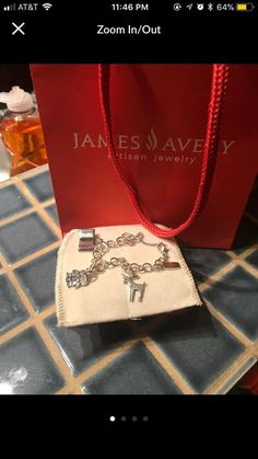 James Avery Bracelet With Charms SALE - Mercari: BUY & SELL THINGS YOU LOVE
