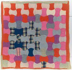 Axe bit (1920) quilt by Rita Marshbanks.  Quilt Study.