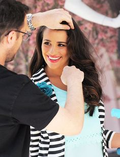 Candie's just unveiled its new fall campaign starring Glee's Lea Michele, and we have a behind-the-scenes look at the shoot! http://news.instyle.com/photo-gallery/?postgallery=121438#
