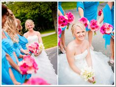 pink and turquoise|Emily Laraine Photography| www.emilylaraine.com/
