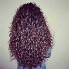 Gorgeous Long Curly Layered Hair