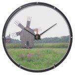 Rustic Windmill Clock Aqua Clocks  #Aqua #Clock #clocks #Rustic #RusticClock #Windmill The Rustic Clock