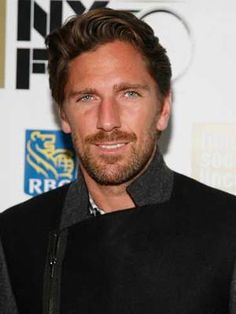 Henrik Lundqvist - goalie for the New York Rangers - he needs a different position so we can see his face more often LOL ❤️
