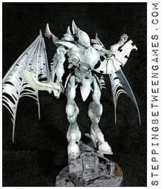 Eldar Wraithknight With Wings - Work in progress - Stepping Between Games Wings, Army, Colours, Games, Projects, Pictures, Painting, Inspiration, Gi Joe