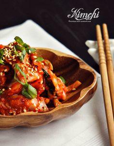 Korean fermented napa cabbage - Baechu Kimchi