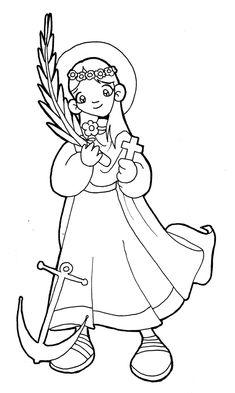 Fiesta: 11 de agosto Santa Filomena fue una jovencita que resultó mártir en los primeros años del cristianismo. Su cuerpo fue ha...