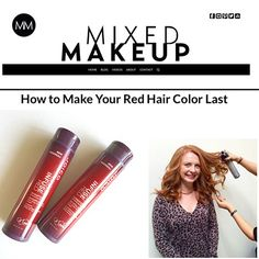 Make your red hair last and last with Joico Color Endure Shampoo and Conditioner