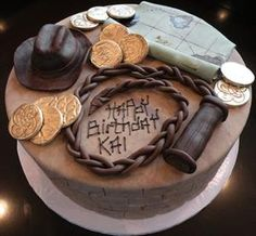 Magnificent 22 Best Indiana Jones Cake Images Indiana Jones Cake Indiana Funny Birthday Cards Online Inifodamsfinfo