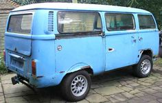 Volkswagen van alloys fitted side view