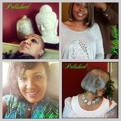 POLISHED :: Makeup & Hair Styling.  Book now: 404.438.5813.