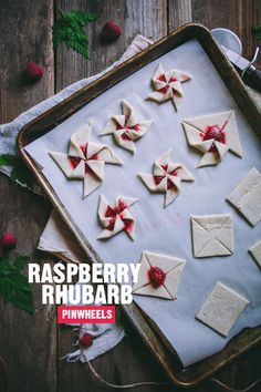Pretty sure these would be a favorite at my house. | June Celebrate  raspberry rhubarb pinwheels | designlovefest
