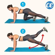 6 exercise to get rid of cellulite. 2 week challenge to reduce cellulite. Get slim and sexy butt and toned thigh with this workout plan. Workout to tone your butt and thigh's muscles. Bikini body…More 2 Week Challenge, Body Challenge, Workout Challenge, Cellulite Exercises, Cellulite Remedies, Fitness Herausforderungen, Fitness Motivation, Thigh Muscles, Reduce Cellulite
