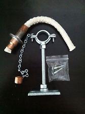 Tiki Torch Wine Bottle hanging kit - Cotton Wick or Fiberglass Wick holder