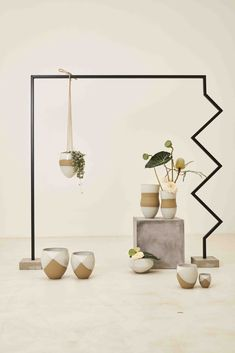 Organic Lines, Cosy Winter, One With Nature, Hanging Pots, Clay Pots, Wabi Sabi, Geometric Shapes, Plays, Vases