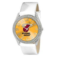 Miami Heat Ladies Glitz Series Watch