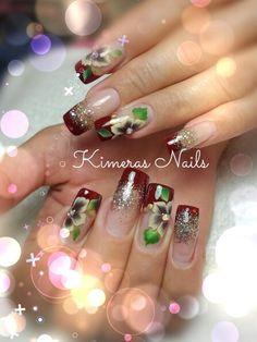 #Nails #uñas #nailspretty #nailsdesign #acrílico #acrylicnails #uñasbellas…