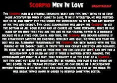 why do scorpio men ignore you