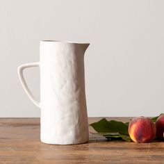 White Stoneware Pitcher- Magnolia Market | Chip & Joanna Gaines