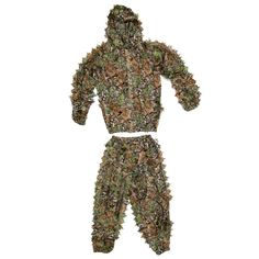 Camouflage Bionic Ghillie Suit for Hunting Games