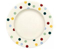 """Emma Bridgewater - Polka Dot - 10.5"""" Dinner Plate"""
