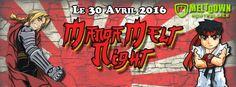 MangaMelt Night 2016 - Montpellier, France, 30 Avril 2016 ~ Anime Nippon~Jin - Kagi Nippon He