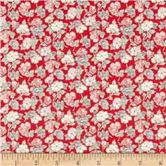 Temptations Ditzy Flower Red