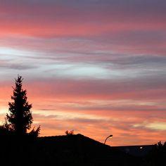Sonnenuntergang zu Christi Himmelfahrt 2013