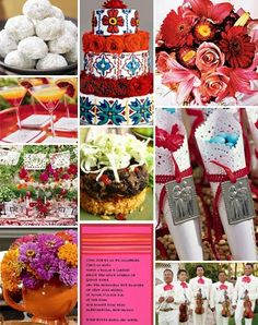 Spanish Style Wedding Decorations   Day Dabbler: Spanish Hacienda Style Wedding...