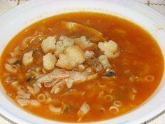 Sopa de Peixe e Camarão