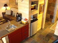 cozy grain bin kitchen