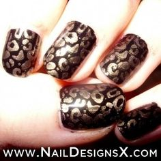 braon nail » Nail Designs & Nail Art