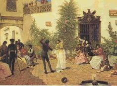 José García Ramos - Fiesta flamenca