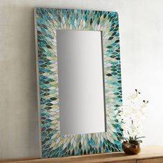 patterns for mosaic rectangle mirrors | street mosaics specializes