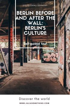 Self-guided tour. Berlin before and after the wall: Berlin's Culture. Street art, contemporary art, where locals hang out and cool places to check out if your in town.