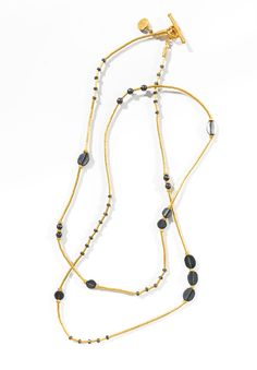 Yossi Harari Gilver Bead Necklace