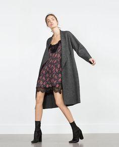 ZARA - SALE - LACE PRINT DRESS