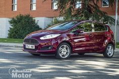 Prueba Ford Fiesta 1.6 TDCI 95 CV, diseño exterior e interior - http://www.actualidadmotor.com/2013/10/10/prueba-ford-fiesta-1-6-tdci-95-titanium/