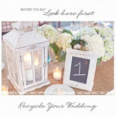 a website to buy recycled wedding items