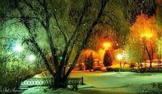 Зимна+вечер