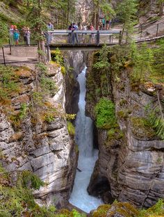 Maligne Canyon - Jasper, Alberta, Canada