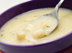 Sopa Creme de Aspargos - Veja mais em: http://www.cybercook.com.br/receita-de-sopa-creme-de-aspargos.html?codigo=252
