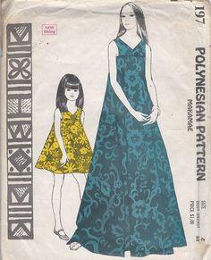 DellaJane Sewing Patterns: Hawaiian and Polynesian Vintage Sewing ...