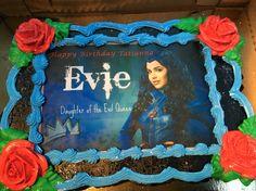 Descendants Evie birthday cake