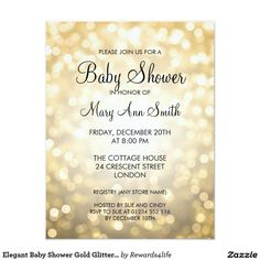 oh baby blush pink gold glitter baby shower card | blush, baby, Baby shower invitations