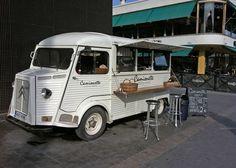 Camionette, Helsinki. Vintage.