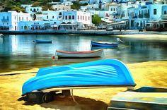 Boats. Myconos, Greece.