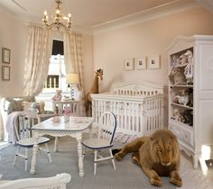 Antique French nursery